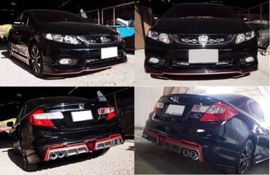 Honda Civic Fb Mugen RR bodykit body kit 2012 2013
