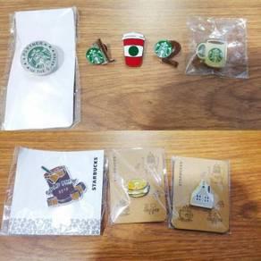 Authenticate Starbucks Rare Pin