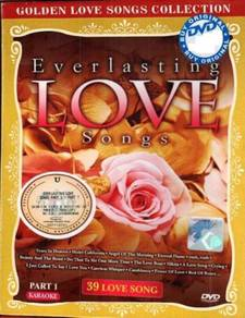 DVD Everlasting Love Songs Part 1 Karaoke