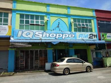Shop Lot 2 tingkat + Pasaraya di Tengah Bandar kuala berang
