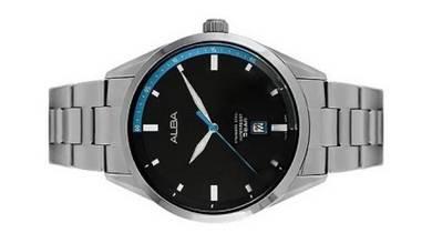 Alba Men Stainless Steel Date Watch VJ42-X247BBLS