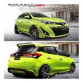 Toyota Yaris n Vios OEM Drive 68 Project R bodykit