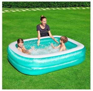 BESTWAY Pool Inflatable 2.01m Kolam Mainan