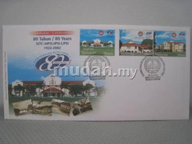 FDC 80 Tahun UPSI 2002