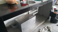 Stainless steel grease trap (1)