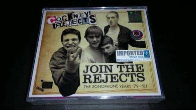 COCKNEY REJECTS-JOIN THE REJECTS 79-81 BOXSET 3Cds