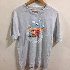 Peanuts Snoopy Grays Shirt Size M