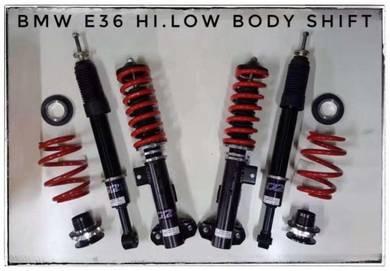 D2 adjustable hilow bodyshift bmw e36