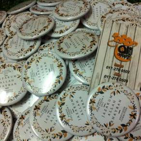 Tempah Button Badge 55mm Design Majlis Kesyukuran