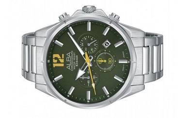 Alba Men Chronograph Date Watch VD53-X287GRYSS