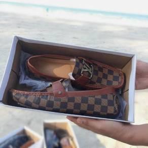 Loafer LV Damier Brown
