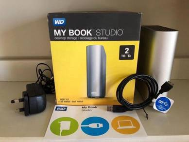 WD My Book Studio 2TB External Hard Drive