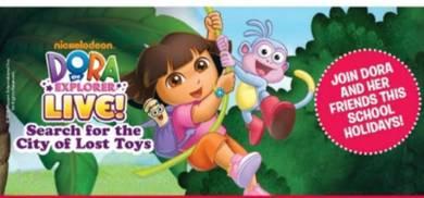 Dora the Explorer Live show in Genting