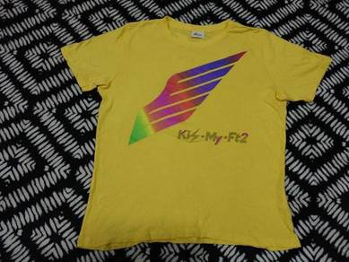 Kis-my-ft2 Band t shirt size m