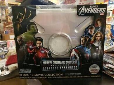 Marvel Cinematic Universe: Phase One (Blu Ray)