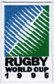 1995 3rd Rugby World Cup iRB Badge Iron On Patch