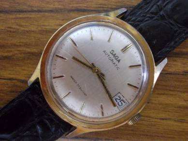 Vintage Saga automatic watch by timex