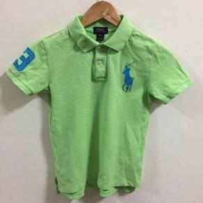 Polo Ralph Lauren Green Shirt Size 7 yr