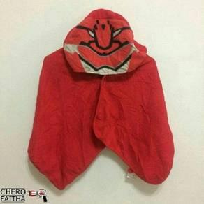 Rayon kid cape cloak hood