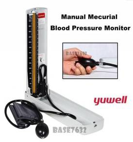 Mercury Sphygmomanometer Blood Pressure Monitor