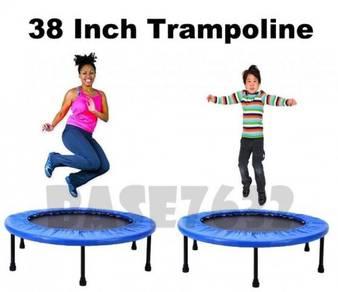 Fitness Rebounder Trampoline Jumping Bed