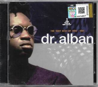 CD Dr. Alban The Very Best of 1990-1997