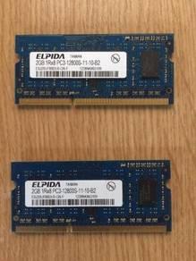 IMac RAM 4GB (2GB x2) DDR3 PC3-8500