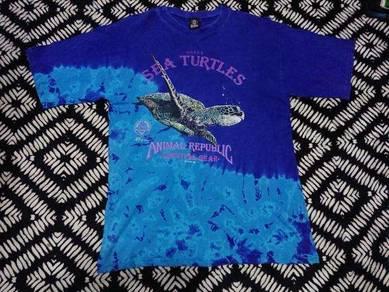 Vintage 1992 animal republic t shirt size m usa