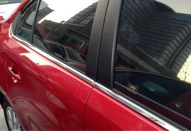 Toyota Vios Wish Ertiga Bezza Chrome window Trim