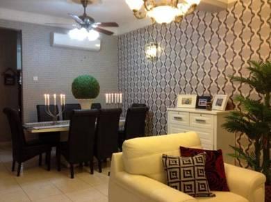 Fully renovated 2 storey terrace house at bukit puchong, puchong