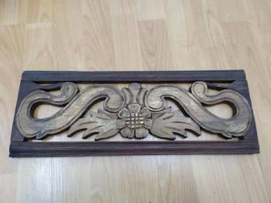 Wood Sculpture Vintage 34