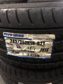 OFFER 245 35 18 Toyo Proxes T1Sport GTI C200 GOLF