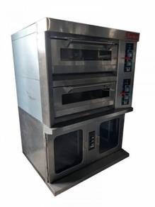 Commercial oven 3 deck with steamer