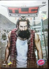 DVD Wrestling WWE TLC Tables Ladders Chairs 2014