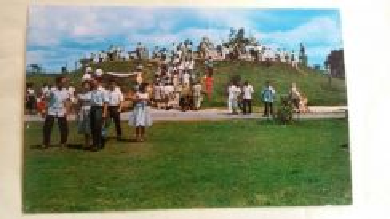 Antik Tunku Park Postcard 1950s No 95