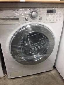 Washer Mesin Fully Auto LG 10.2kg Dryer Combo