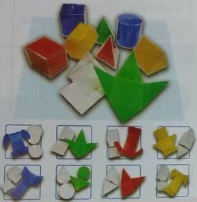 Folding Geometric Shape Set