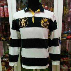 Canterbury Wellington WRFC Striped Rugby Polo