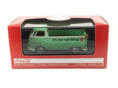 MC 1:43 Coca-Cola Volkswagen T1 Pickup Truck 1962