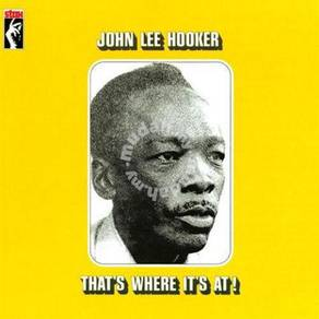 John Lee Hooker That's Where It's At LP