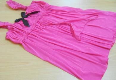 L513 Sexy Fashion Pink Sleepwear Lingerie Babydoll
