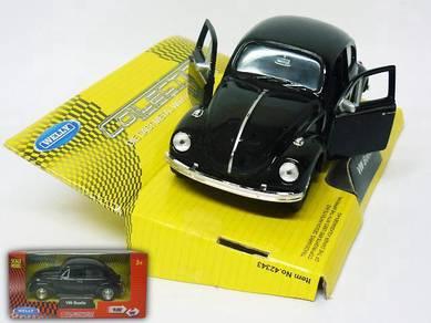 Classic Volkswagen beetle 1/38 model car