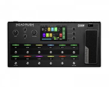 Headrush Pedalboard Guitar Amp and FX Processor