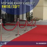 Make every event a red carpet event in malaysia