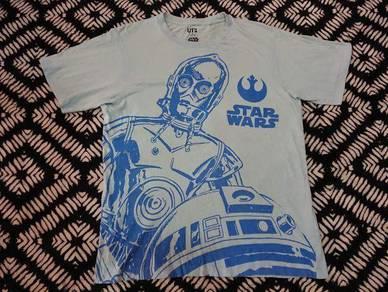 Star wars t shirt big print size m by uniqlo