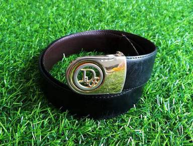 Original DIOR leather belt w30-34 kueii