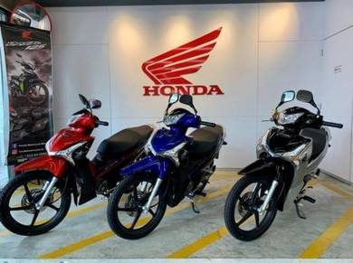 Honda Wave 125i MCR (Deposit Rendah) Ready Stock