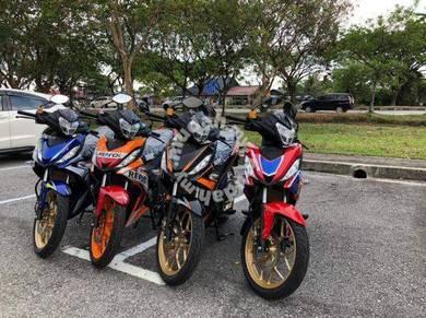 Honda rs150 !! BEST OFFER IC & PAYSLIP SHJAA