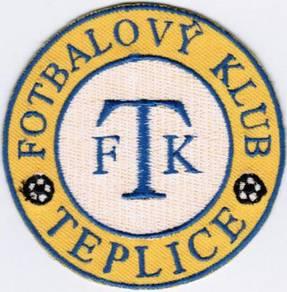 FK Teplice Czech Republic Football Soccer Patch