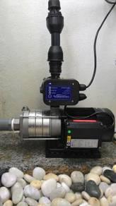 Booster Pump Installation to boost pressure